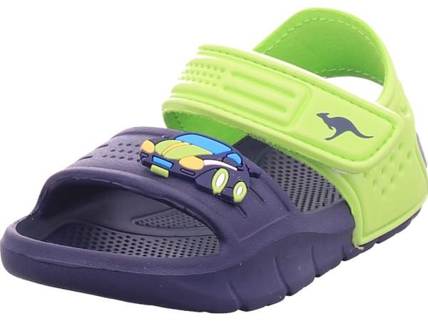 KangaRoos KangaSwim II Jungen Sandale Sandalette Sommerschuhe blau 18557/4054-4054