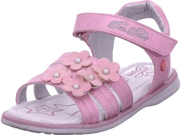 Tom Tailor Mädchen Sandale Sandalette Sommerschuhe rot 6972101