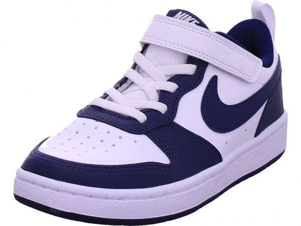 Nike Court Borough Low Jungen Sneaker weiß BQ5451