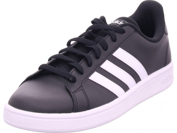 Adidas GRAND COURT BASE,CBLACK/FTWWHT Herren Sneaker schwarz EE7900