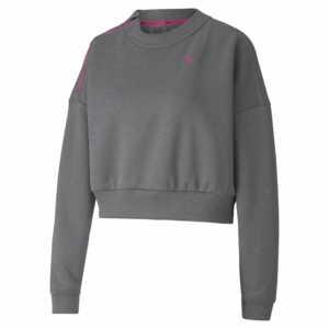 Puma Train Zip Crew Sweatshirt Damen grau 519480