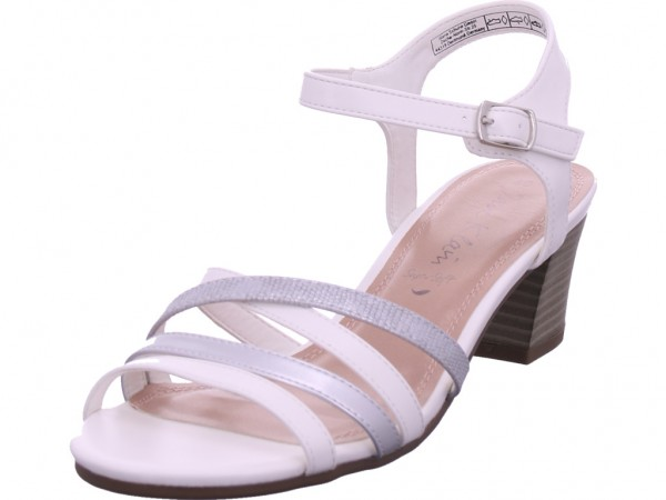 Jane Klain Damen Sandale Sandalette Sommerschuhe grau 282321000/227