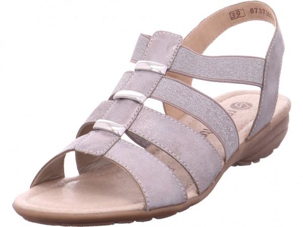 Remonte Damen Sandale Sandalette Sommerschuhe grau R3644-90