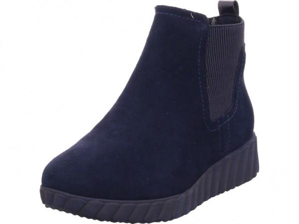 Tamaris Damen Stiefel Stiefelette Boots elegant blau 1-1-25485-23/805-805