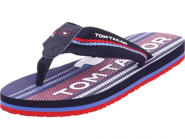 Tom Tailor Herren Pantolette Sandalen Hausschuhe blau 6981605