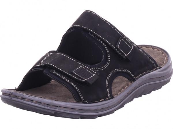 Seibel Raul23 Damen Pantolette Sandalen Hausschuhe schwarz 15323