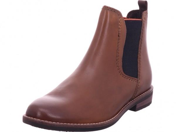 Marco Tozzi Damen Stiefelette Damen Stiefel Stiefelette Boots elegant braun 2-2-25366-27/340