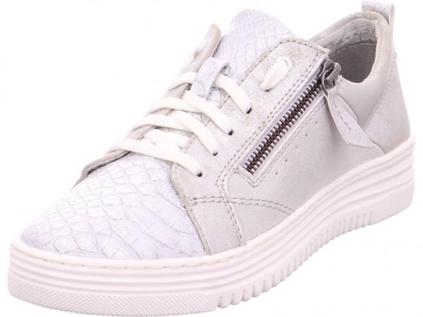 Jana Damen Halbschuh Sneaker Sport Schnürer zum schnüren weiß 882370120190