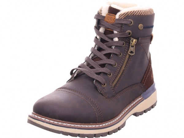Dockers Herren Stiefel Schnürstiefel warm sportlich Boots braun 43AD103-650