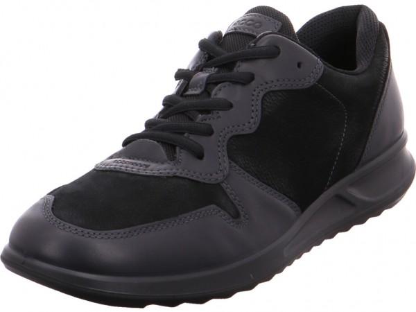 ecco Ladies Damen Halbschuh Sneaker Sport Schnürer zum schnüren schwarz 28363353859