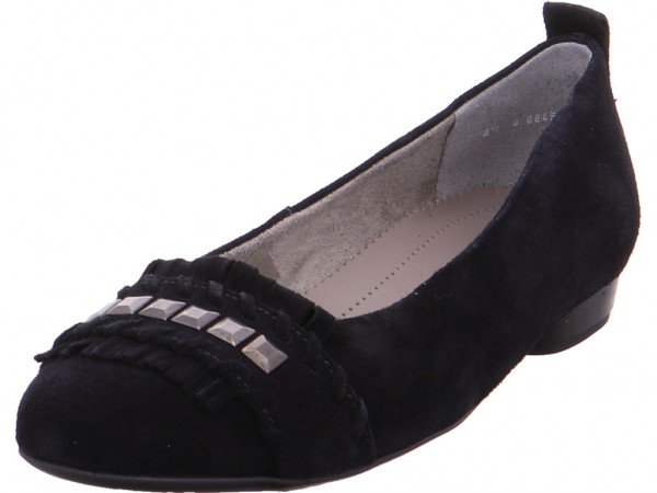 jenny v ara PISA Damen Pumps flach Ballerina blau 22-53371-72