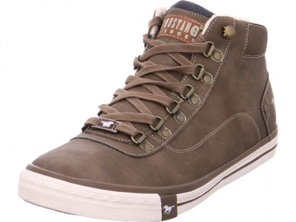 Mustang Herren Stiefel Schnürstiefel warm sportlich Boots braun 4103601 3