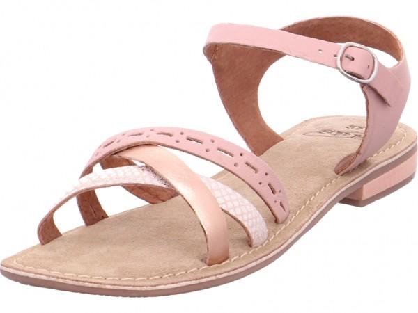 SPM NV Damen Sandale Sandalette Sommerschuhe rot 22158050-1S0-25-01370-03867