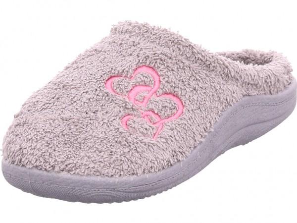 hengst LOLA Damen Pantolette Sandalen Hausschuhe grau V51831.821