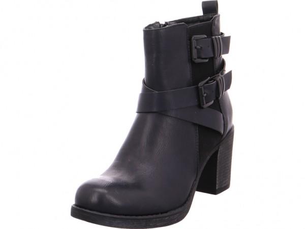 Bild 1 - Quick-Schuh Schlupf-, Reissverschl.Stiefel Damen schwarz