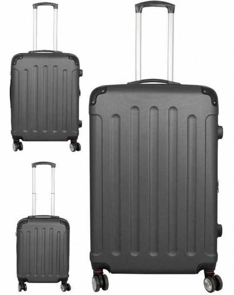 PM Euro- Trading GmbH ABS Kofferset Avalon 2 Unisex - Erwachsene Tasche Sonstige 37968