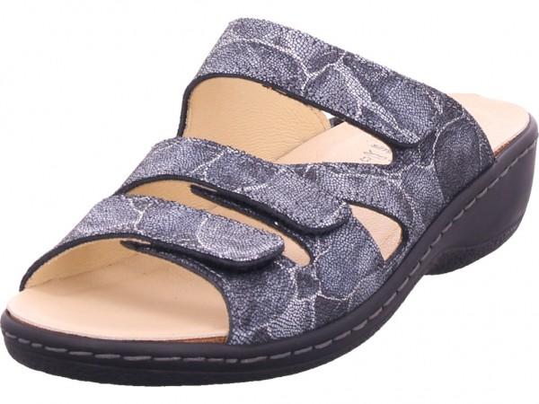 portina Damen Pantolette Sandalen Hausschuhe Clogs Slipper blau 42/482