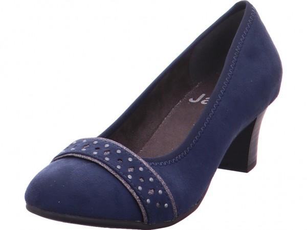 Jana Woms Court Shoe Damen Pump blau 8-8-22474-22/805-805