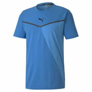 Puma Train Thermo R+BND Short Sleev Herren blau 519400