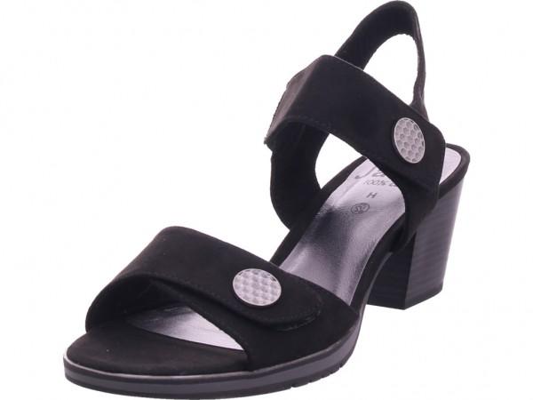 Jana Damen Sandale Sandalette Sommerschuhe schwarz 8-8-28308-24/001-001