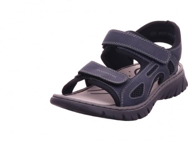 Rieker Herren Sandale Sandalette Sommerschuhe blau 26761-14
