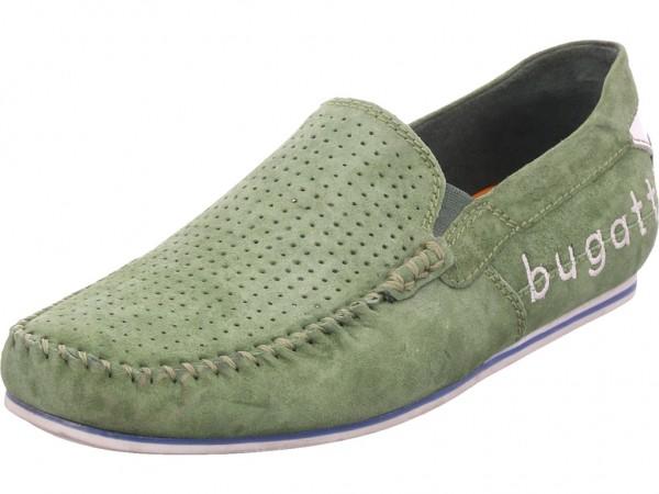 Bugatti Herren Slipper grün 321704603400