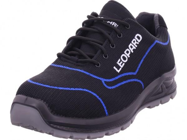 Leopard Herren Arbeitsschuhe Sicherheitsschuhe schwarz E1670