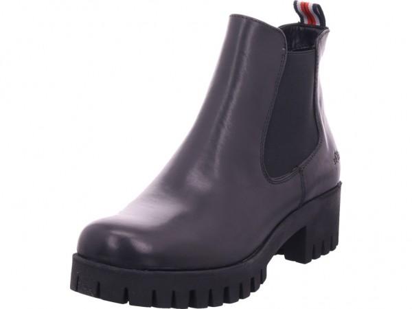 s.Oliver Woms Boots Damen Stiefelette schwarz 5-5-25427-23/001-001