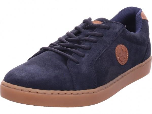 Rieker Herren Schnürschuh Halbschuh sportlich Sneaker blau B6048-14