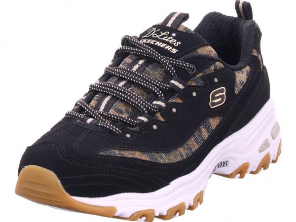 SKECHERS Damen Sneaker schwarz 13158 BKLD