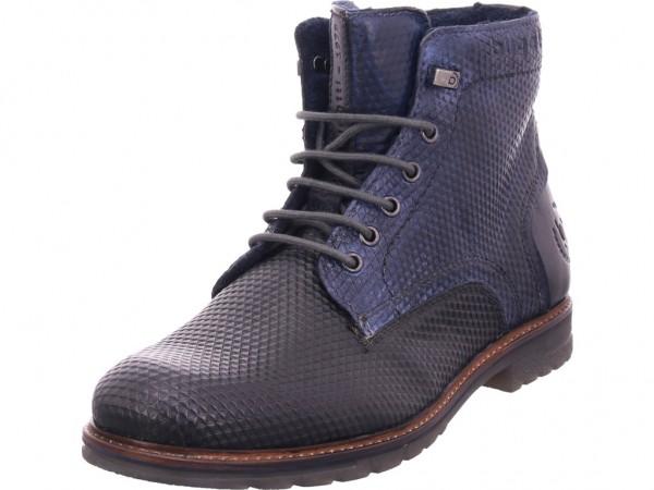 Bugatti Ringo II Herren Stiefel Schnürstiefel warm sportlich Boots blau 321618334141