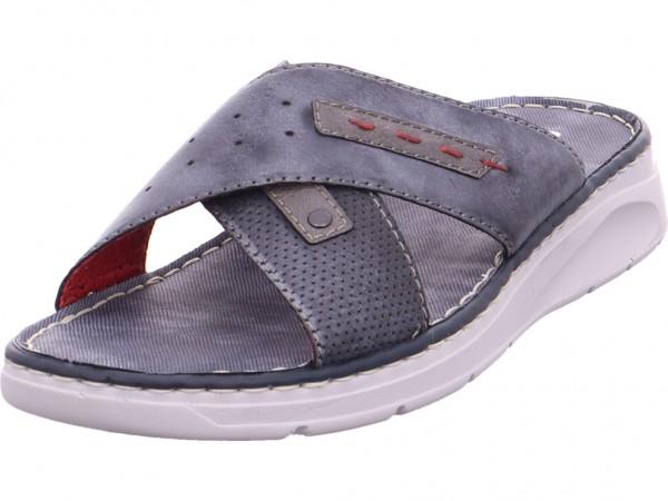 Rieker Pantolette Sandalen Hausschuhe blau 25497-14