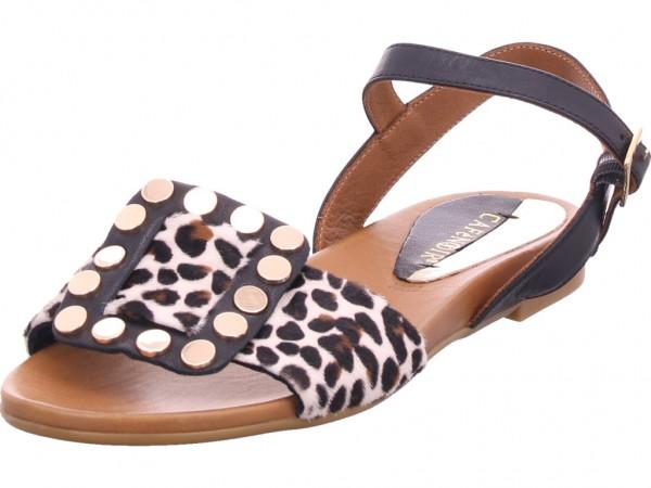 cafenoir Damen Sandale Sandalette Sommerschuhe schwarz GA110226