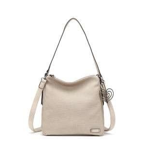 Tamaris Accessoires ADINA Hobo Bag M Damen Tasche beige 3032191-326