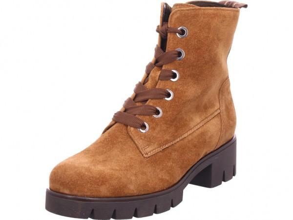 Gabor Damen Winter Stiefel Boots Stiefelette warm Schnürer braun 34.711.14