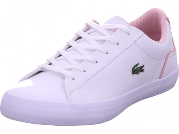 Lacoste Lerond 0120 1CFA Damen Halbschuh Sneaker Sport Schnürer zum schnüren weiß 740CFA00301Y9
