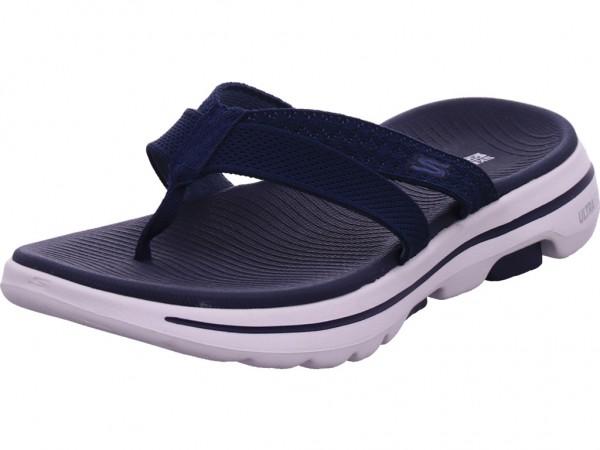 SKECHERS Damen Pantolette Sandalen Hausschuhe Clogs Slipper blau 140085NVY