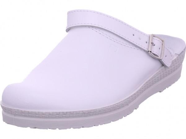 Rohde Damen Pantolette Sandalen Hausschuhe weiß 1518/00