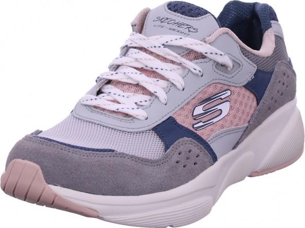 SKECHERS Meridian Charted Damen Sneaker grau 13019 GYPK