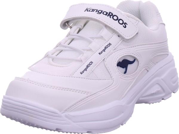KangaRoos KC-Chunky EV Mädchen Sneaker weiß 18469/0000-0000