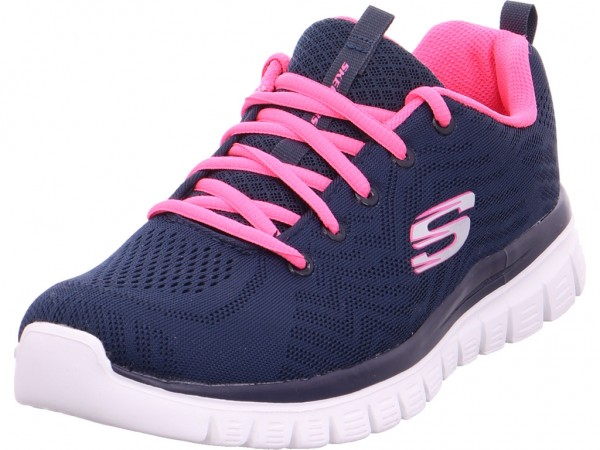 SKECHERS GRACEFUL - GET CONNECTED Damen Sneaker blau 12615 NVHP