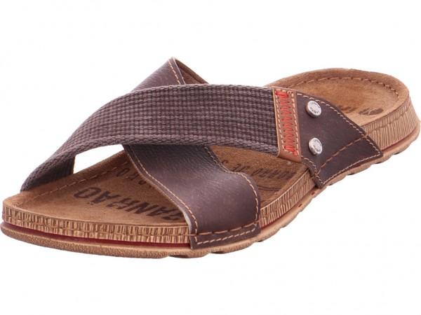 Quick-Schuh Pantolett. Sp-Boden Herren Pantolette Sandalen Hausschuhe braun 1000326/3