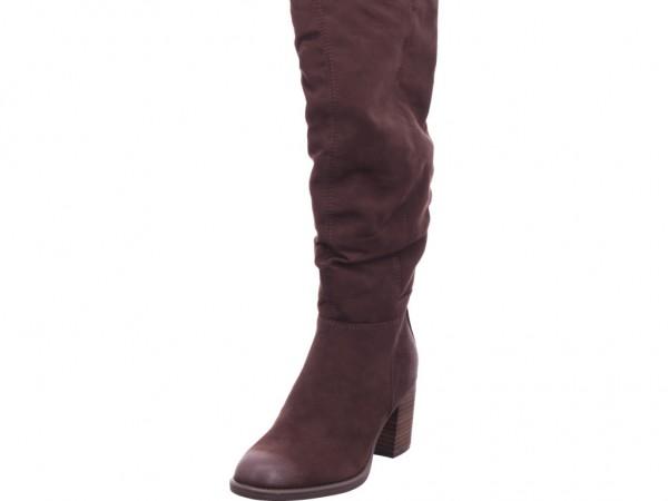 s.Oliver Damen Stiefel Damen Stiefel lang Overknees Boots Langschaft braun 5-5-25505-25/302-302