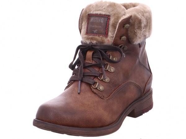 Mustang Damen Stiefel braun 1295601-301