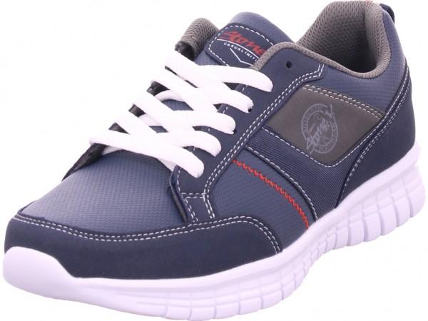 hengst Herren Schnürschuh Halbschuh sportlich Sneaker blau C70202401