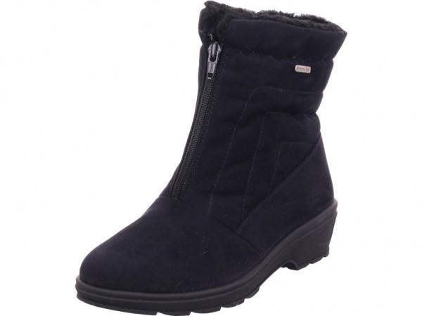 Rohde Damen Winter Stiefel Boots Stiefelette warm zum schlüpfen schwarz 2946-90