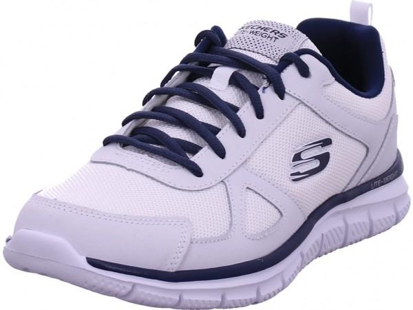 SKECHERS TRACK - SCLORIC,Blau Herren Sneaker weiß 52631 WNV