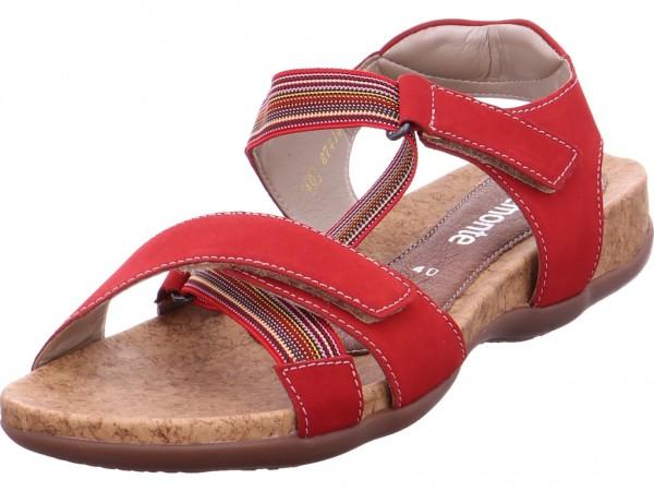 Remonte Sandale Sandalette Sommerschuhe rot R3257-34