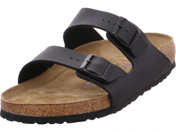 0886a5655b7450 Birkenstock Arizona BF Soft Schwarz Herren Pantolette Sandalen ...