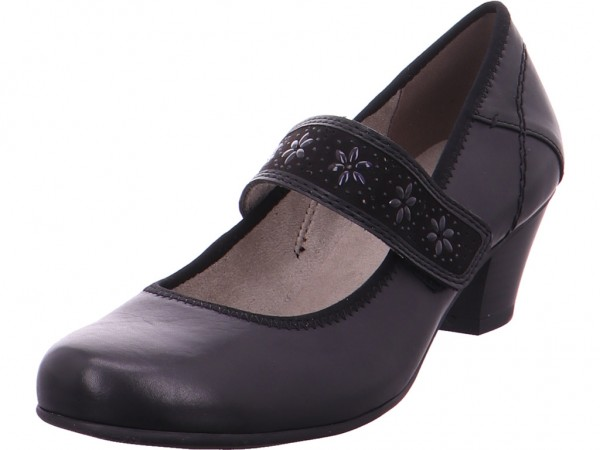 Jana Woms Slip-on Damen Pump schwarz 8-8-24301-22/001-001